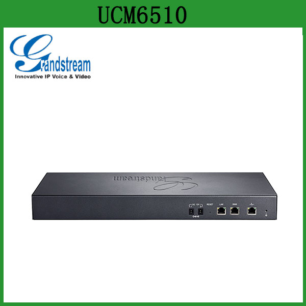 Grandstream UCM6510 E1/T1/J1 IP PBX System with 2000 Users