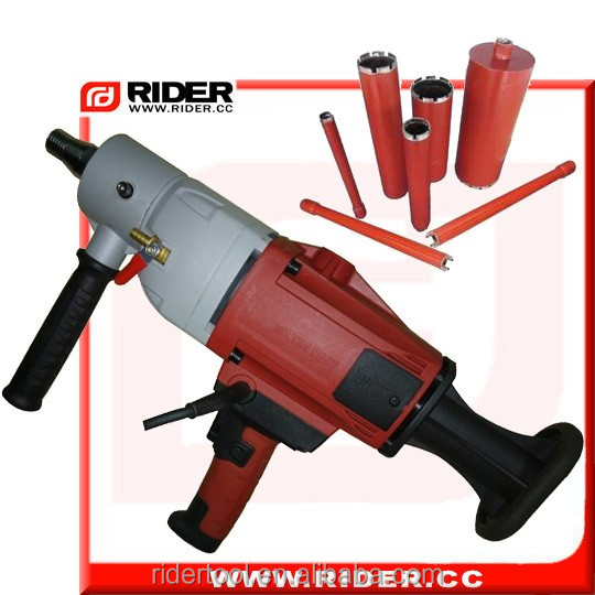 heavy duty concrete wall drilling machine 2100w hand core drill equipment