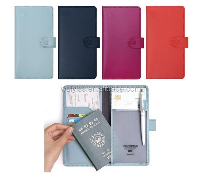 2015 New Product! Rfid Passport Holder,Rfid Blocking Passport ...