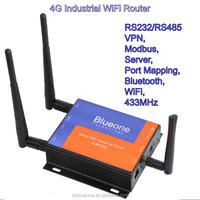 Smart Home Automation Modbus WiFi RS232 Industrial Wireless 4G Router