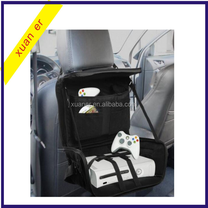 Hot selling car accessories portable game controller car seat back organizer