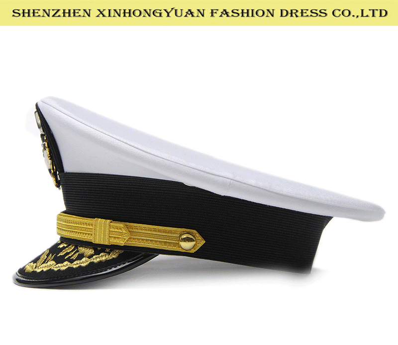 4290d0ae052 White Sailor Navy Captain Hat For Army - Buy White Sailor Hat