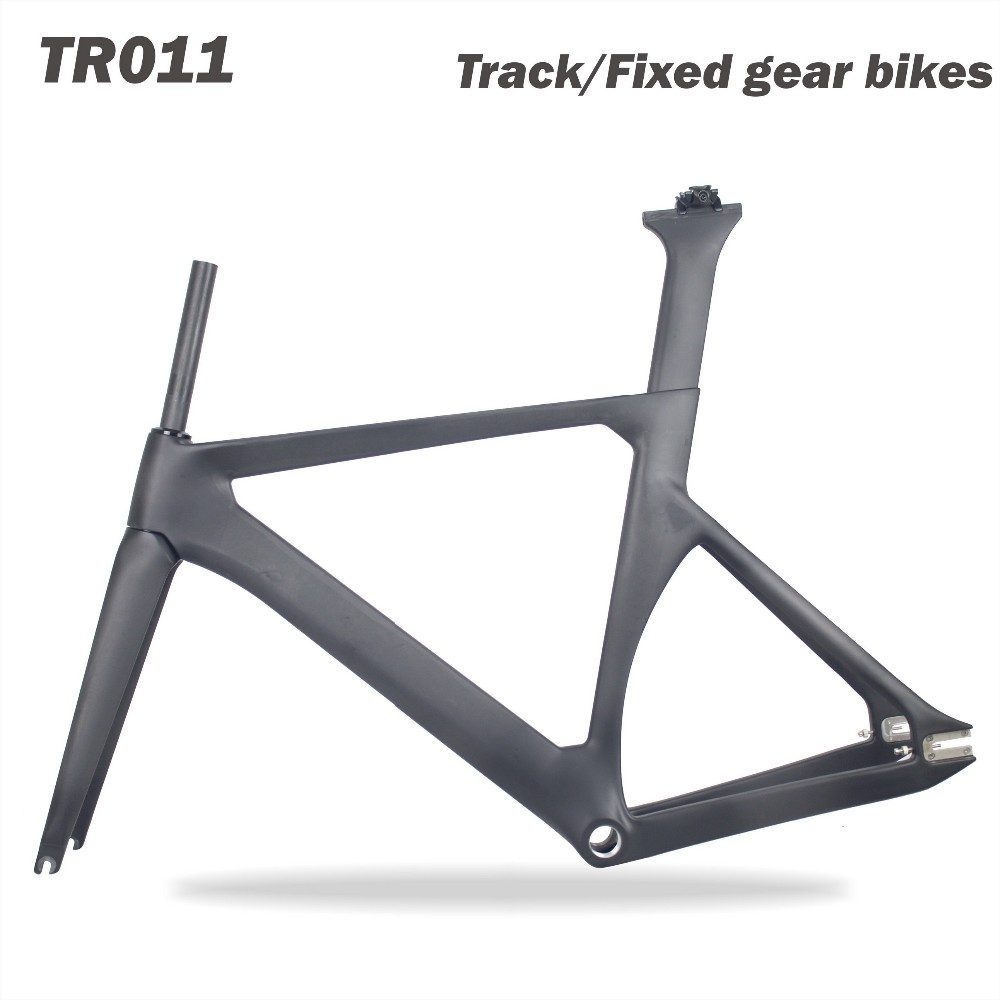 Miracle Bikes Carbon Bicycle Frame Carbon Track Frame Full Carbon ...