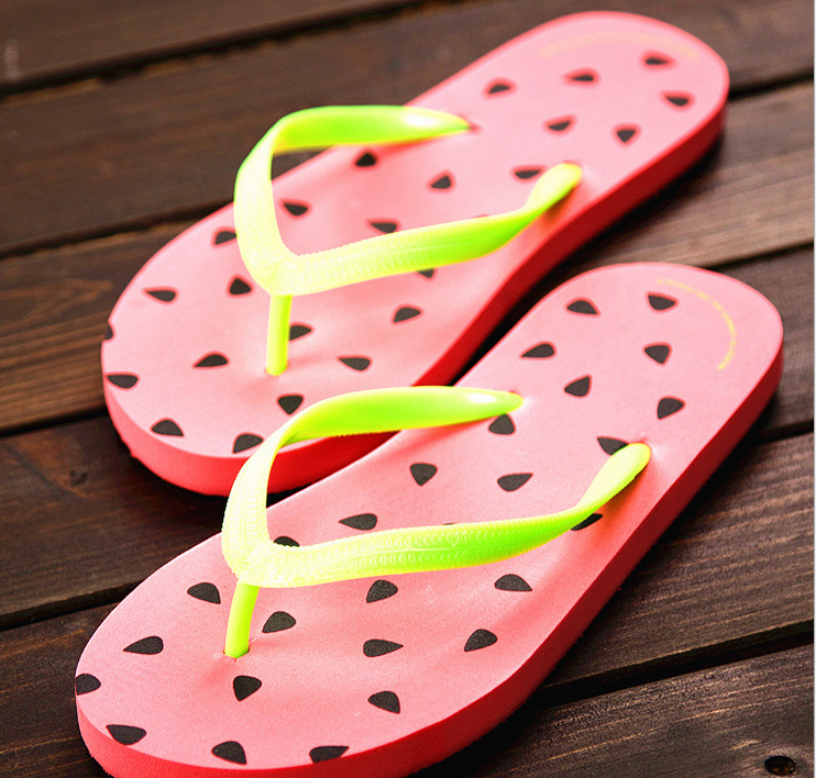 Guang dong subtimation slip flop soft flip flop strap use in swimming pool