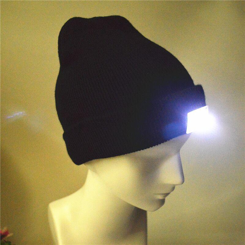 c7131dce831 Unisex Winter Knitted New Led Light Beanie Hat - Buy 4led Beanie ...