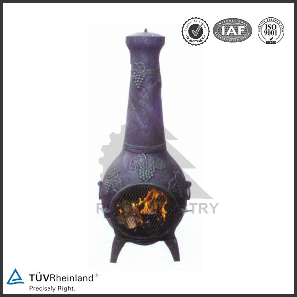 decorative antique outdoor cast iron wood stove