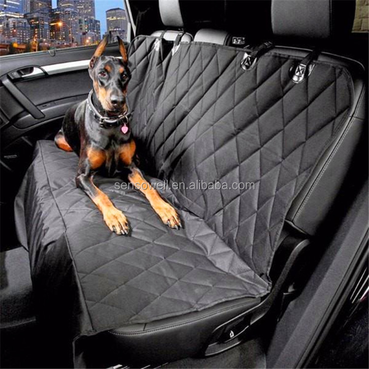 Oxford Waterproof Hammock Car Rear back Seat Covers dog seat covers for pets