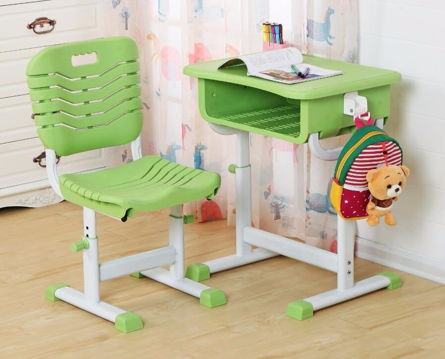 Tremendous Customized Hot Selling Single Area Steel Modern School Desk Chair Study Children Plastic Table And Chairs Buy Children Plastic Table And Machost Co Dining Chair Design Ideas Machostcouk