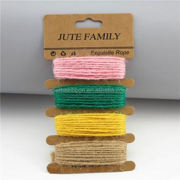 2017 Cheap Craft Jute Rope Twine Jute