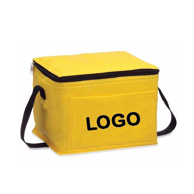 Oempromo cheap non woven cooler lunch bag with custom LOGO
