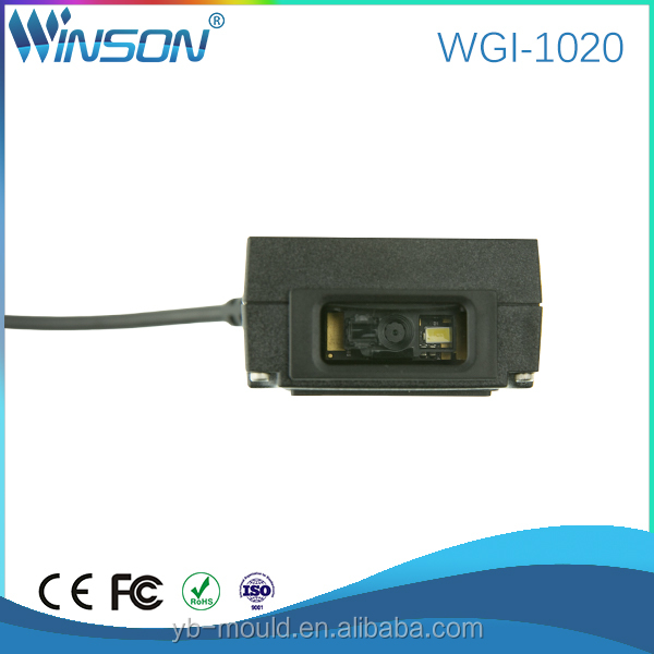 wgi-1020-RS-USB 2d barcode scanner fix mounted barcode scanner usb 2d Fix mounted bar code scanning for windows pos terminal