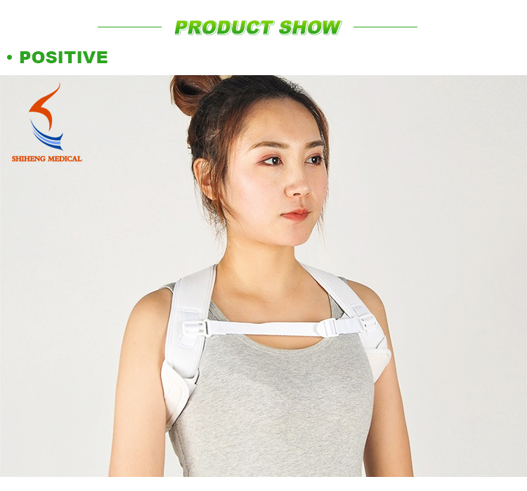 Paypal acceptable corrector clavicle support brace, posture corrector adjustable