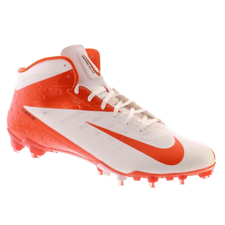 official photos 85683 18665 Get Quotations · Nike VAPOR TALON ELITE 3 4 Mens Football Shoes White  Orange Flash 15 M