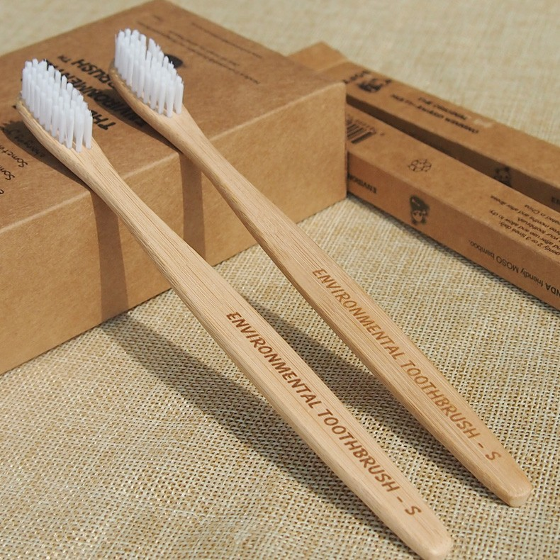 Bamboo Handle Toothbrush Deodorizer Activated Bamboo Charcoal