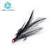 Treble Hook Feather Fishing Hooks fly fishing hook