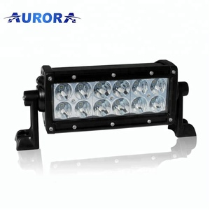 2018 hot sale ECE approved 6inch IP69K waterproof led light bar truck ATV