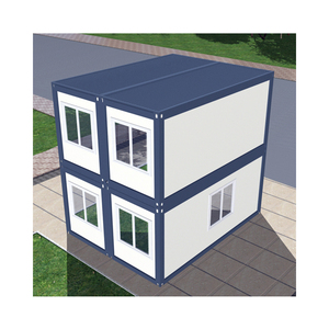 Movable Flat Pack Container two stories modular container house