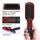 Best Selling Magic Hair Straightener Comb With LCD Display Electric Straight Hair Comb Straightener Iron Brush