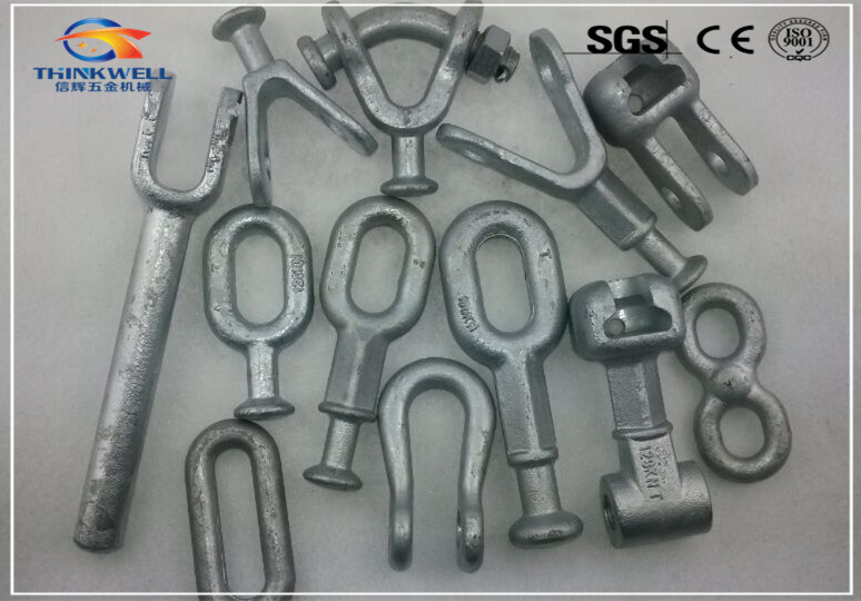 Forged Galvanized Pole Line Fitting overhead line fitting Transmission Line Fitting