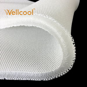 Wellcool wholesale airflow padded 600-1200gsm 205cm width 20mm 3d air mesh spacer fabric for mattress pillows