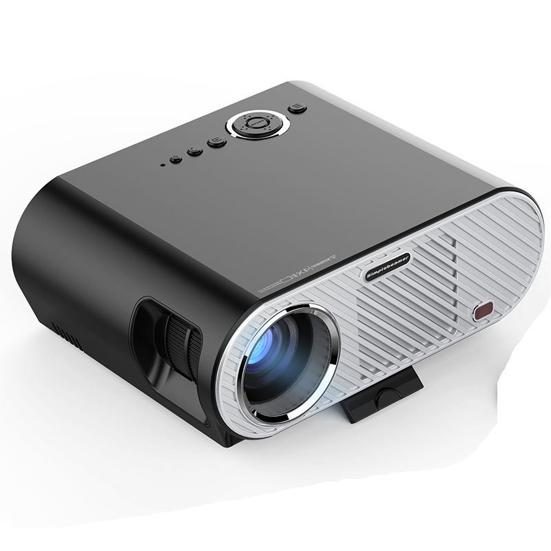 LED projector with remote contorl 3000Lumens 1920*1080 rate For Video Games TV Home Theater Movie
