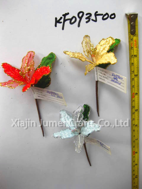 Newest design Christmas decorative dried flowers for christmas arrangements