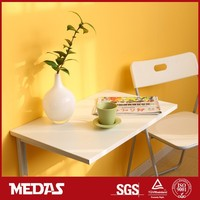 wall mounting folding study table for kids