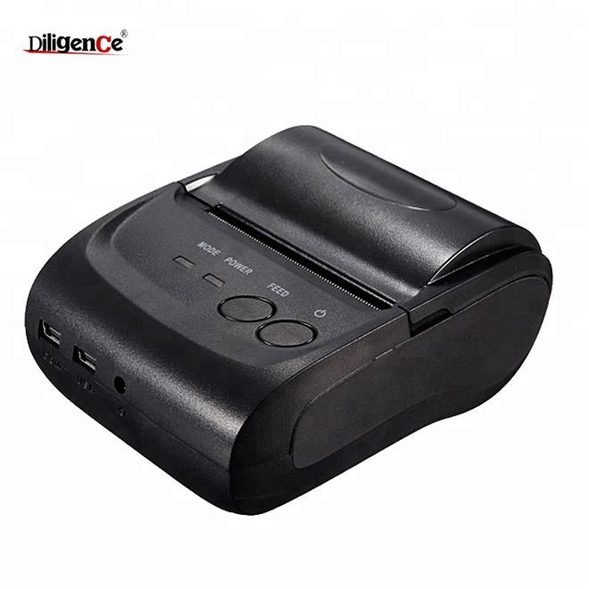 Wireless empfang thermische bluetooth drucker 58mm mini tragbare bluetooth thermische drucker mit multi-languag