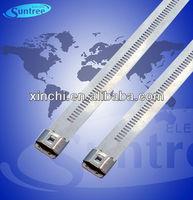 Plastic Coated Stainless Steel Zip Ties