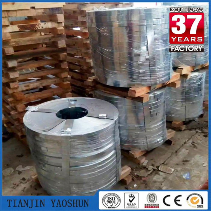Q195 DX51D Cold rolled Hot dipped galvanized steel strip for C purlin