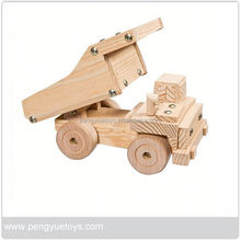 Kids toys children wooden toy car set