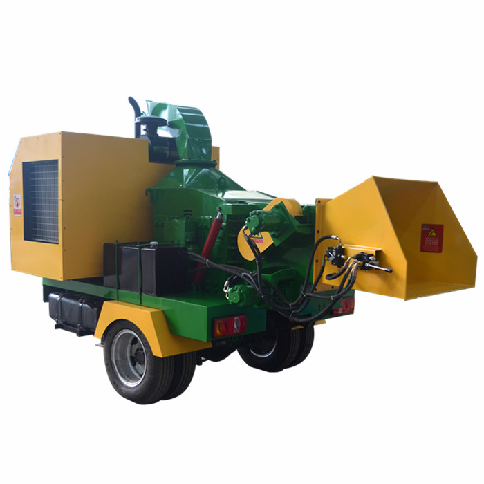 Mobile Industrial Used Wood Chipper for Paper Mill
