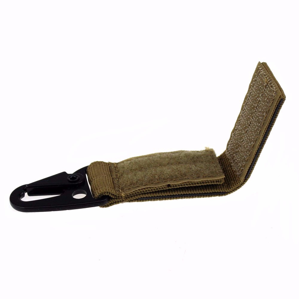 Molle Clips Quick Release Webbing Hanging System Belt Tactical Buckle Nylon Hook Keychain Hunting Accessories