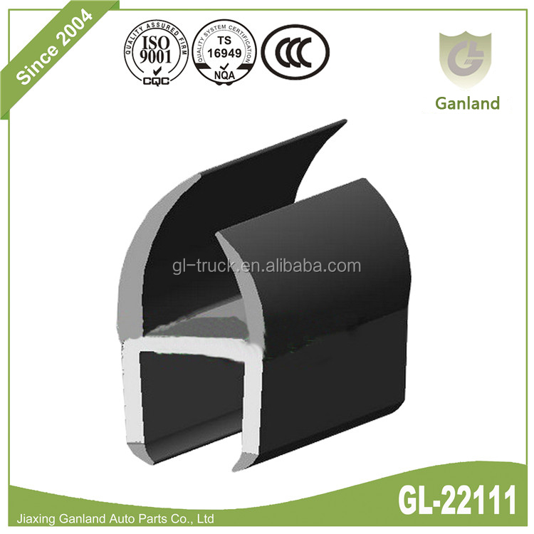 GL-22111 PVC Co-extruded Truck Door Seals Width 18 mm