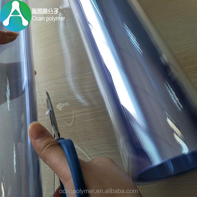 a4af06b968a Transparent Plastic Wrap Blue Pvc Super Clear Film Roll From Ocan ...