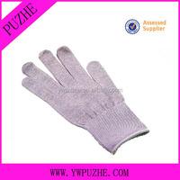 Electric Sliver Fiber Conductive Gloves For Tens Electrode Units