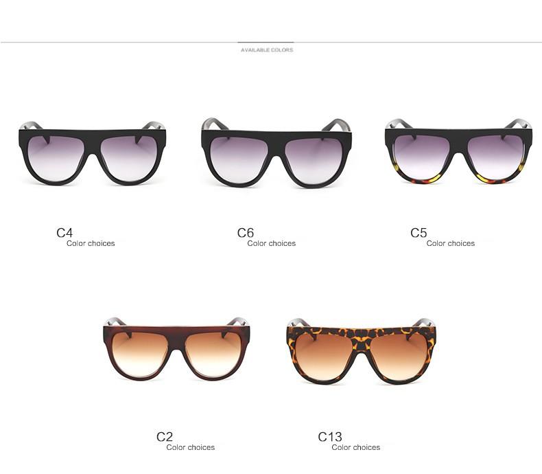 Billige Kundenspezifische Sonnenbrille 2016 Frauen Flat Top Stil ...