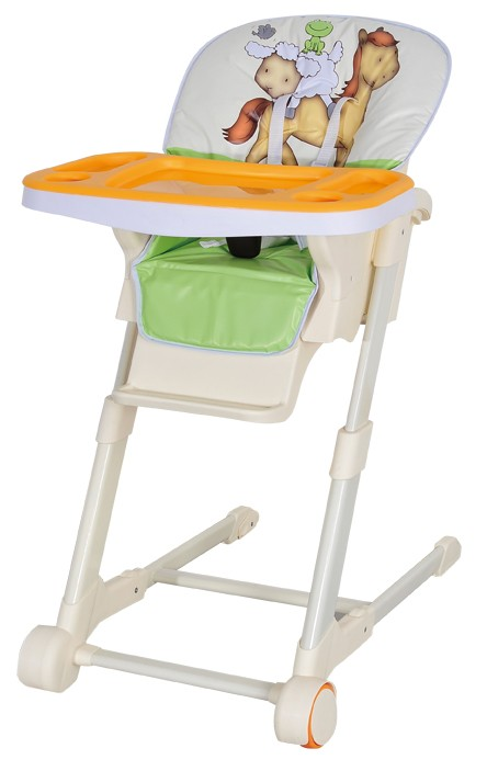 plastic baby high chair. metal frame plastic tray baby high chair /adjustable legs restaurant highchair/folding t