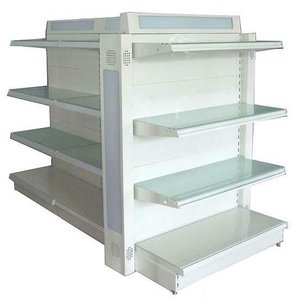 Gondola Supermarket Steel Shelf