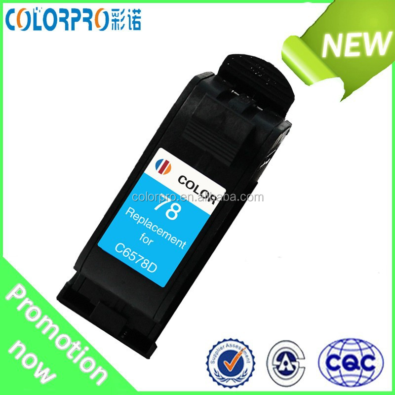 High quality as OEM remanufactured ink cartridge for hp78(C6578D )