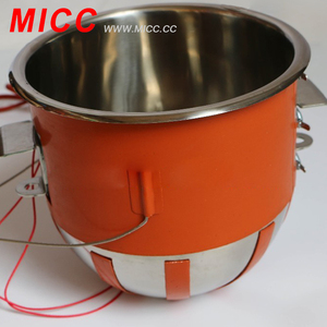 MICC Hot sale Flexible Oil Drum Silicone Rubber Heater Band with Digital Display