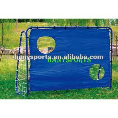 Soccer training urinal football goal