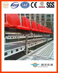 Outdoor Bleacher Seating System With Demountable Design
