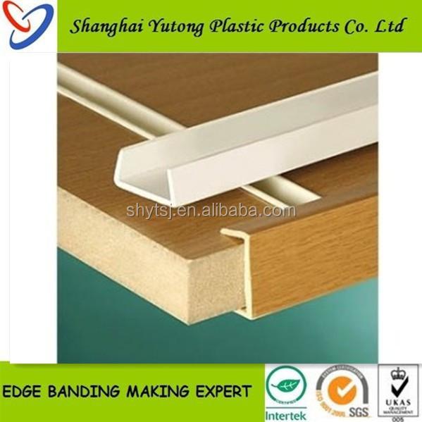Plastic Pvc U Trim For Table Edging - Buy Plastic Pvc U Trim For Table  Edging,Board Plastic Pvc U Trim For Table Edging,Pvc U Shaped Edge Banding  Tape