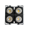 factory direct sale dmx 4*100w COB Warm white stage led audience blinder light