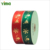 China factory wholesale amazon christmas decorations red wide christmas ribbon