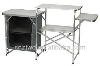 Alluminio Campeggio Tavolo Da Cucina Stand Barbecue Tavolo/acciaio ...