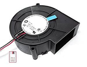 12V 0.72A Drum wind machine wheel ventilation fan projection server CPU fan F9733B12LE