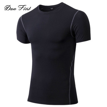 blank sports plain colors souvenir round neck short sleeve t-shirt