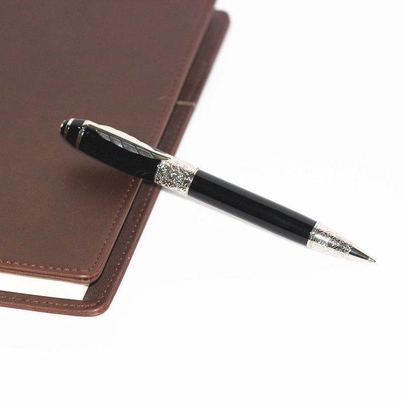 Free shipping Piling Promotions Limited edition Writes series special black Marble pattern ballpoint pen for Friend Gift
